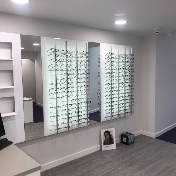 opticians shopfitters